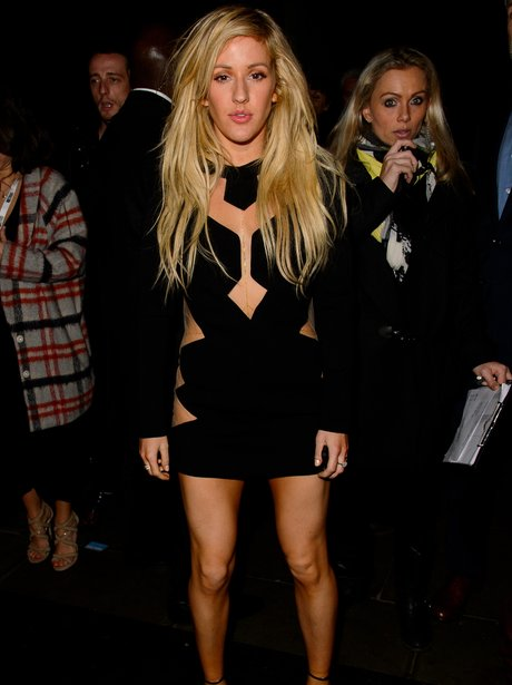 Ellie Goulding at the Brit Awards 2014 aftershow