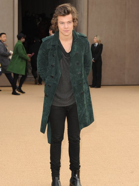 Harry Styles London Fashion Week 2014