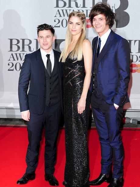 London Grammar BRIT Awards 2014 Red Carpet