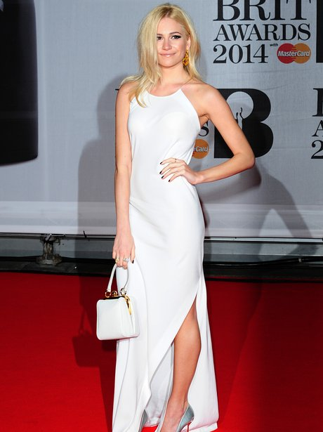 Pixie Lott at the Brit Awards 2014