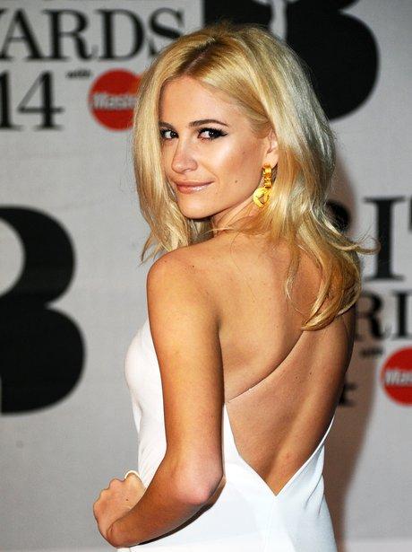 Pixie Lott at the Brit Awards 2014