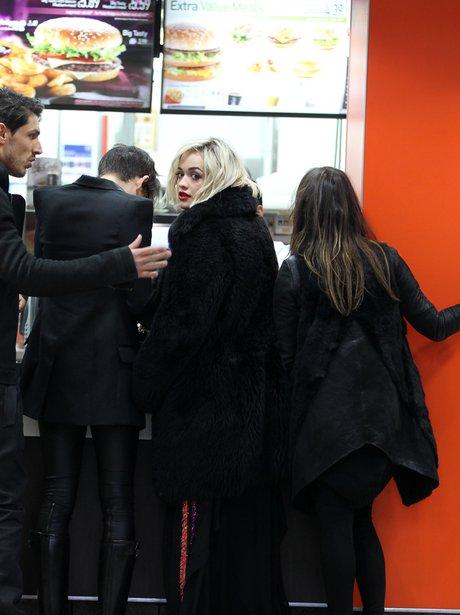 Rita Ora McDonalds