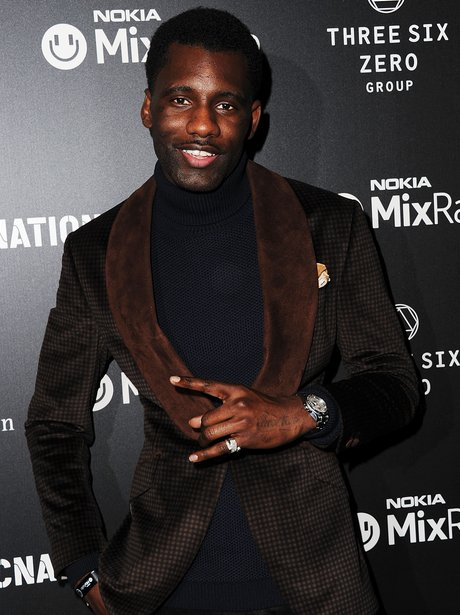 Wretch 32 at the Brit Awards 2014 aftershow party