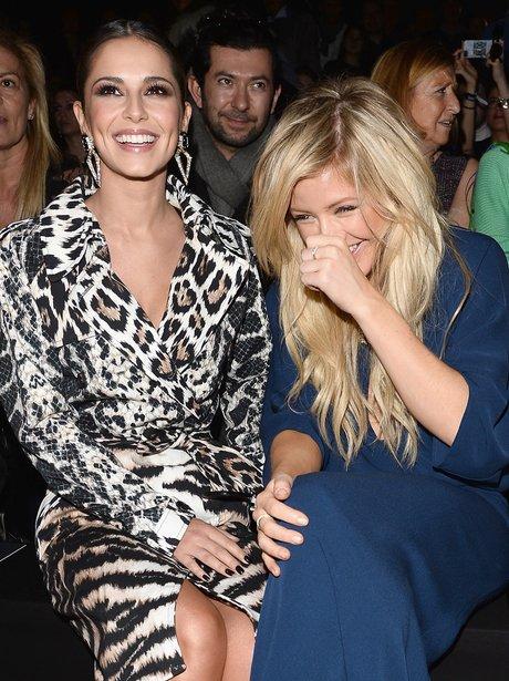 Cheryl Cole and Ellie Goulding enjoy Milan Fashion Week