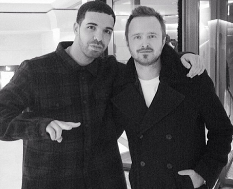 Drake and Aaron Paul
