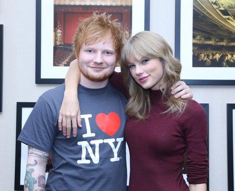 Pop Bffs 24 Reasons We Love The Friendship Between Ed Sheeran Taylor Swift Capital