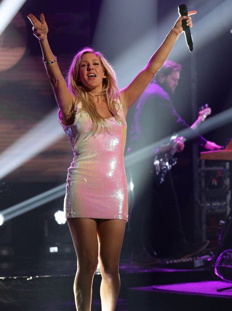 Ellie Goulding performs on The Graham Norton Show
