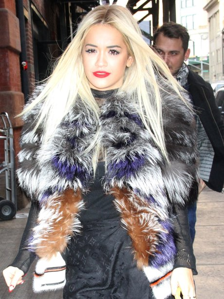 Rita Ora shows off her new long hair