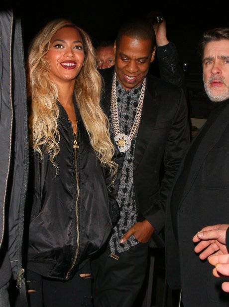 Beyonce and Jay Z London
