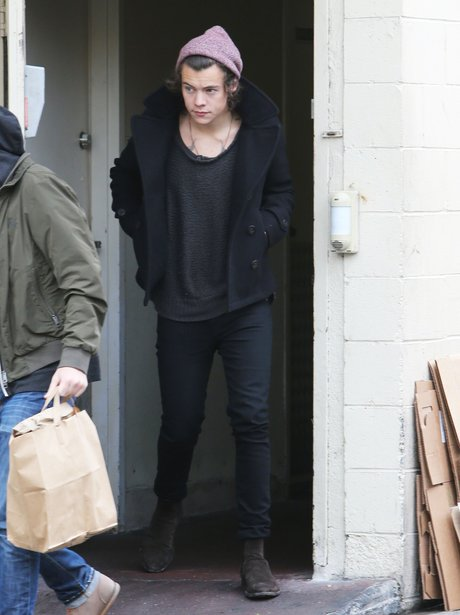 Harry Styles pictured in Beverley Hills