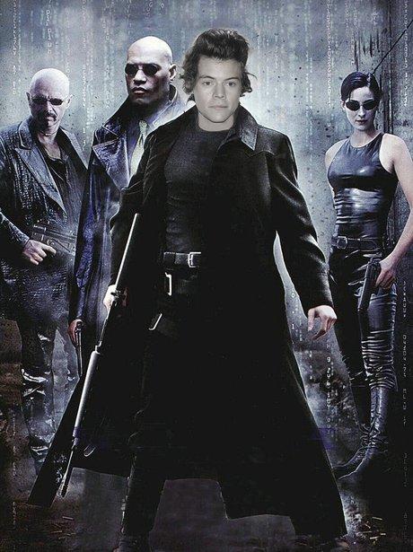 Harry Styles Film Roles: The Matrix (Neo)
