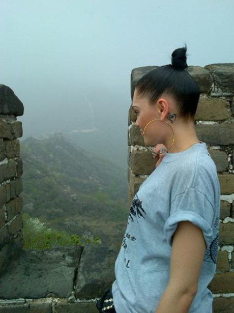 Jessie J Great Wall of China