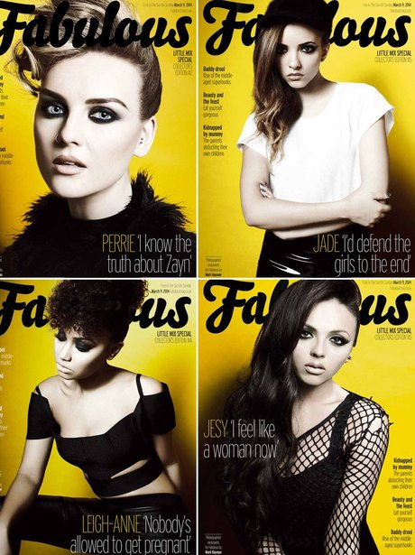 Little Mix Fabulous Magazne 2014