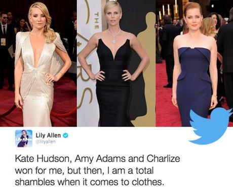 Oscar Twitter Respone 2014