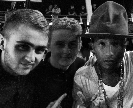 Pharrell and Disclosure