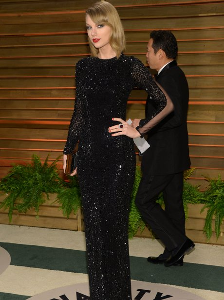 Taylor Swift at the Vanity Fair Oscars Party 2014