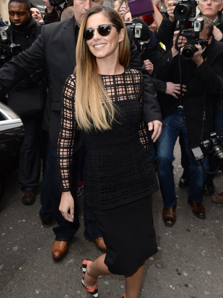 Cheryl Cole arrives for X Factor