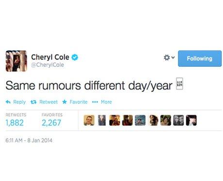 Cheryl Tweet