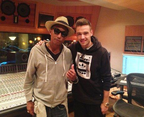 Pharrell and Liam Payne