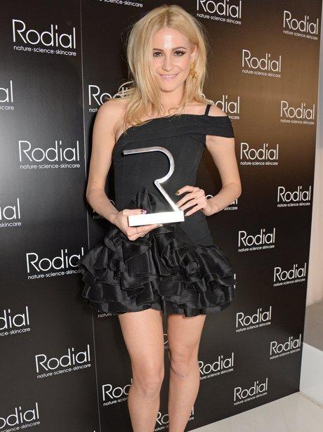 Pixie Lott, winner of the Most Stylish Award,