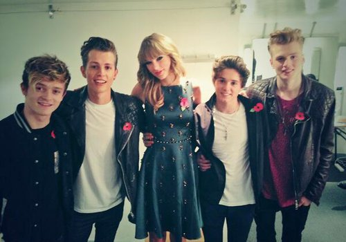 The Vamps Taylor Swift 2014