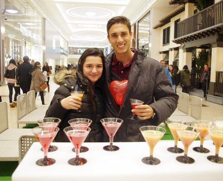 Valentines Mocktail Bar at Eldon Square