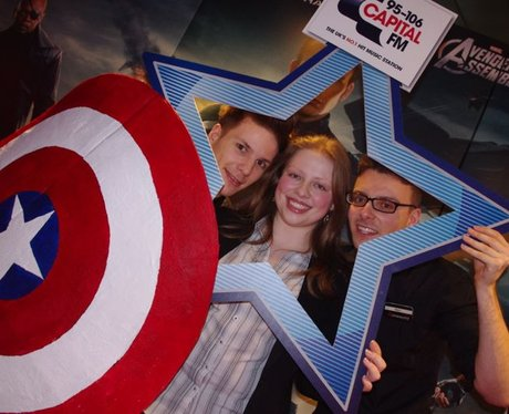 Captain America Premier At Cineworld, Cardiff