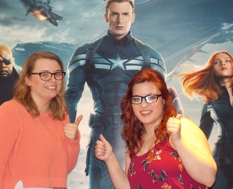 Check out the pictures from the Captain America Pr