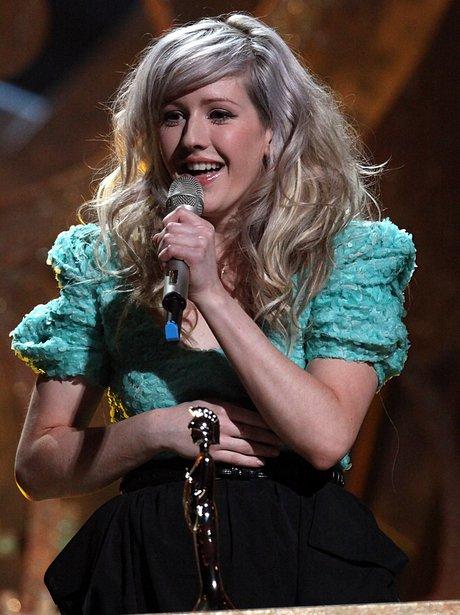 Ellie Goulding BRITS 2010