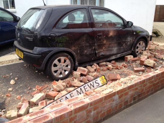 Gosport Royal Mail lorry crash