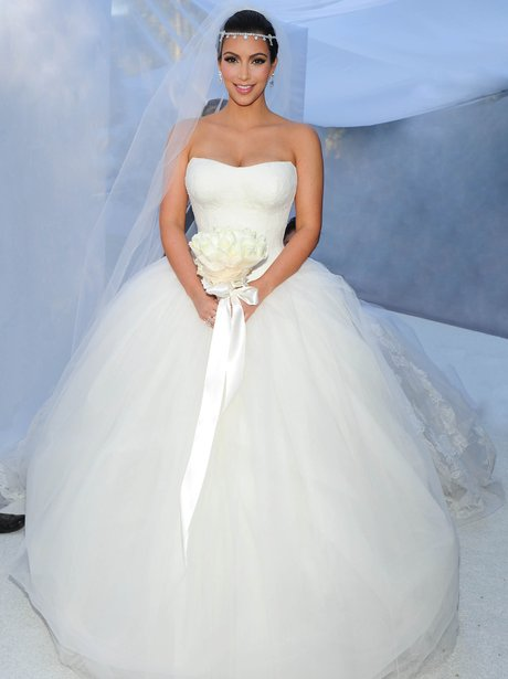 Kim Kardashian Went For The Meringue Look Her Wedding To Kris Humphries