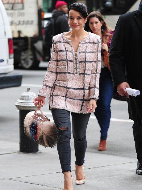 Lily Allen Fury Bag