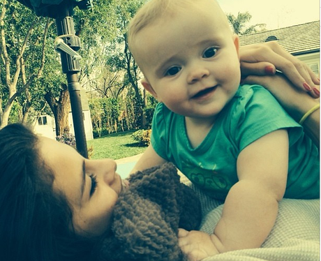 Selena Gomez and Baby Sister I