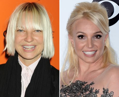 Sia and Britney Spears