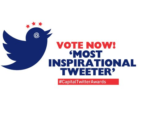 Twitter Awards 2014: Most Inspirational Tweeter