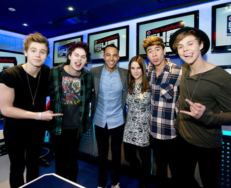 5 Seconds of Summer with Marvin Humes & Kat Shoob