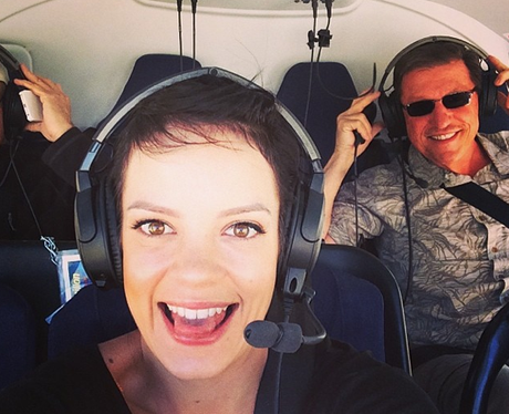 Lily Allen Helicopter