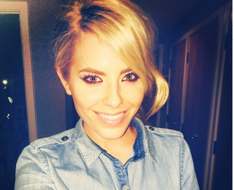 Mollie King Cropped Hair
