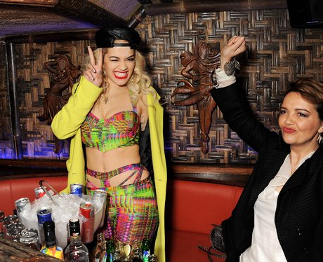 Rita Ora and Mum