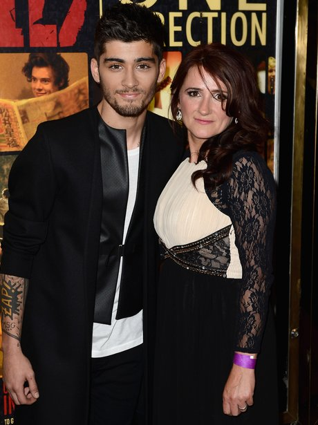 Zayn Malik and Mum This Is Us Premiere