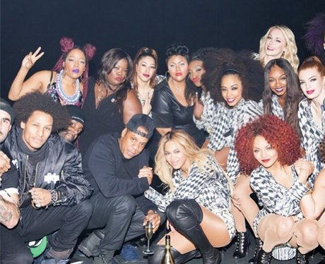 Beyonce celebrates the end of her world tour