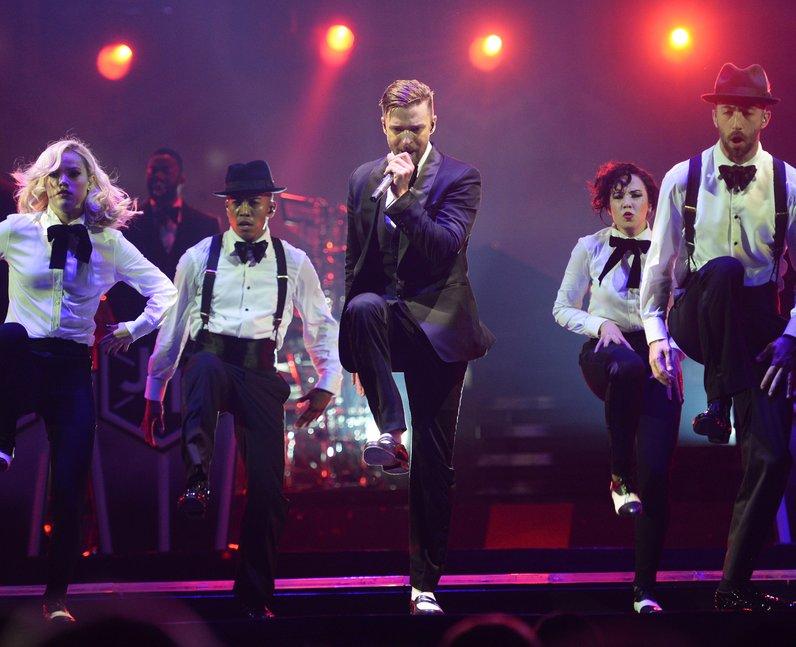 Justin Timberlake on tour
