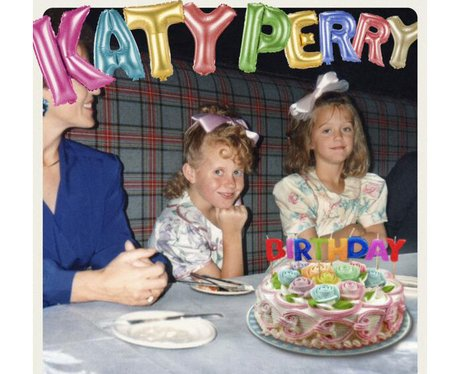 Katy Perry 'Birthday' Single Cover