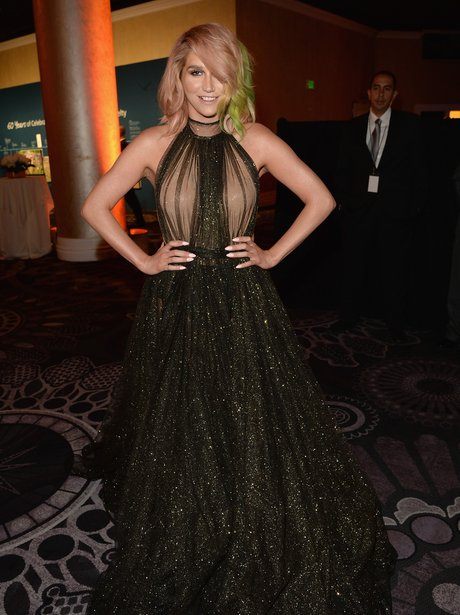 Kesha attends a charity gala event