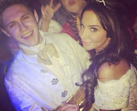Niall Horan hangs out with Tulisa at Rochelle's party