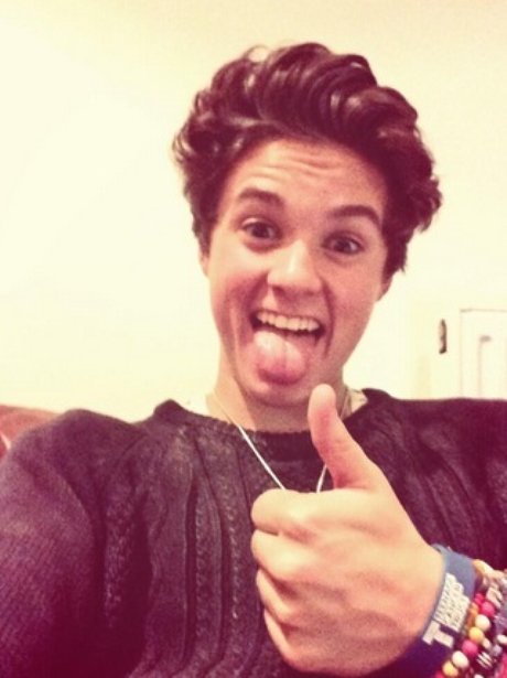 Brad gives all you #Vampettes out there a nice thumbs up ... Bradley Simpson Instagram 2014