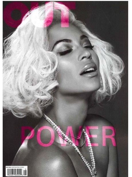 Beyonce 'Out' Magzine 2014