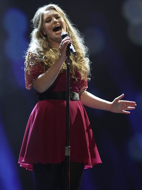 Ella Henderson performs at the  NTA's 2013