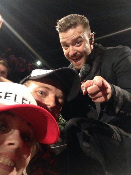 Justin Timberlake and Ewan Cunningham