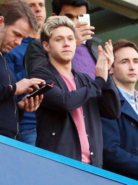 Niall Horan Watching Football
